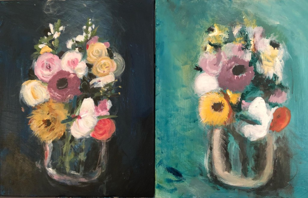 floral paintings by leah prusiner