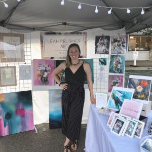 Leah Prusiner artist art market
